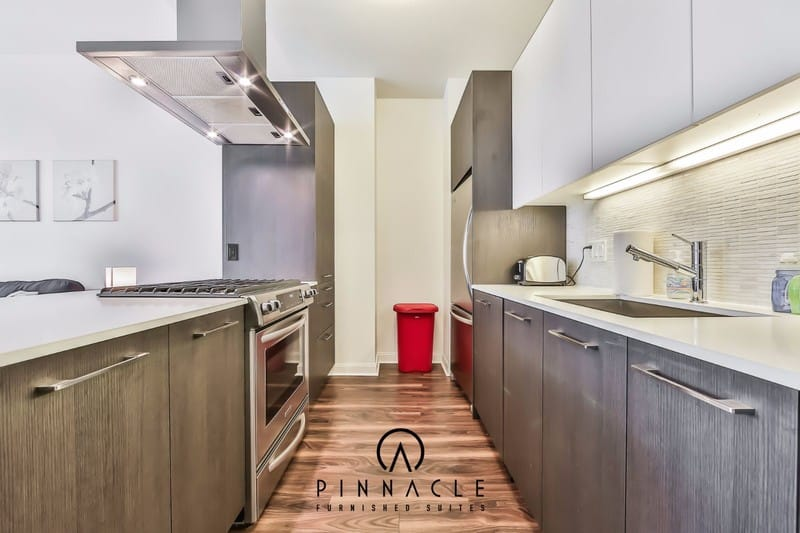 Short term Furnished Housing OneEleven Wacker River North Studio  Convertible Stainless. OneEleven Jr 1 Bedroom 11   Pinnacle Furnished Suites